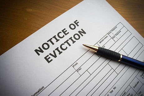 eviction process - housing law