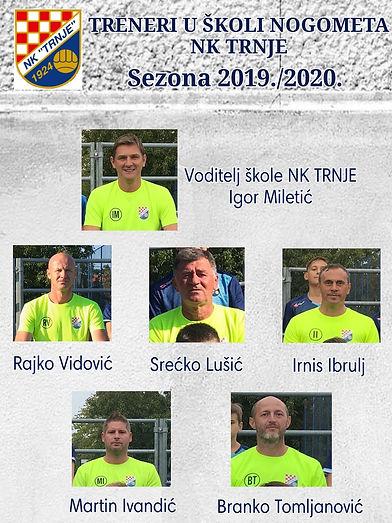 TRENERI 2019/2020
