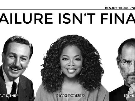 Failure Isn't Final