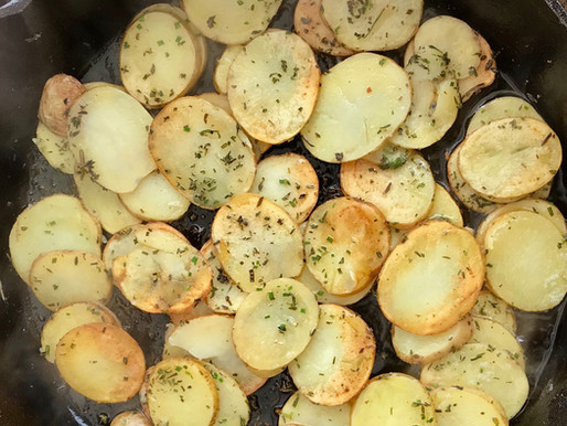 Pan-fried Potatoes with Herbs