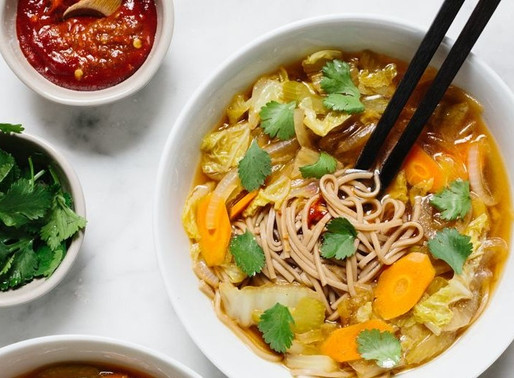Shoyu Cabbage Soup