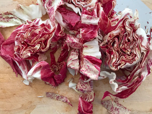 Radicchio Salad with Sour Cream Ranch