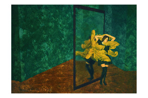 D'un coté du miroir