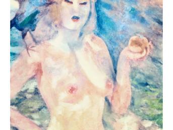Eva ou le fruit défendu.