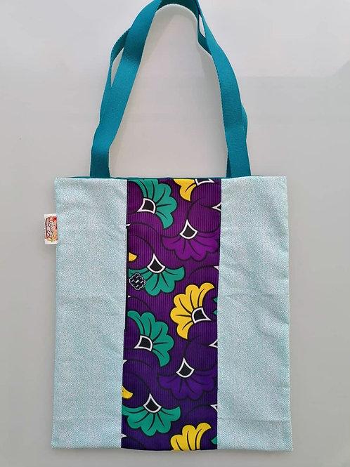 "Tote bag ""Mix fleurs de mariage"""
