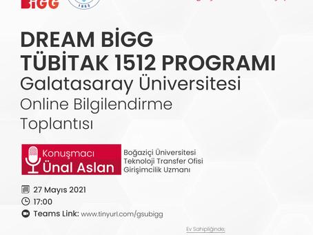Galatasaray Üniversitesi'nde Dream BiGG Tanıtım Etkinliği Gerçekleştirildi