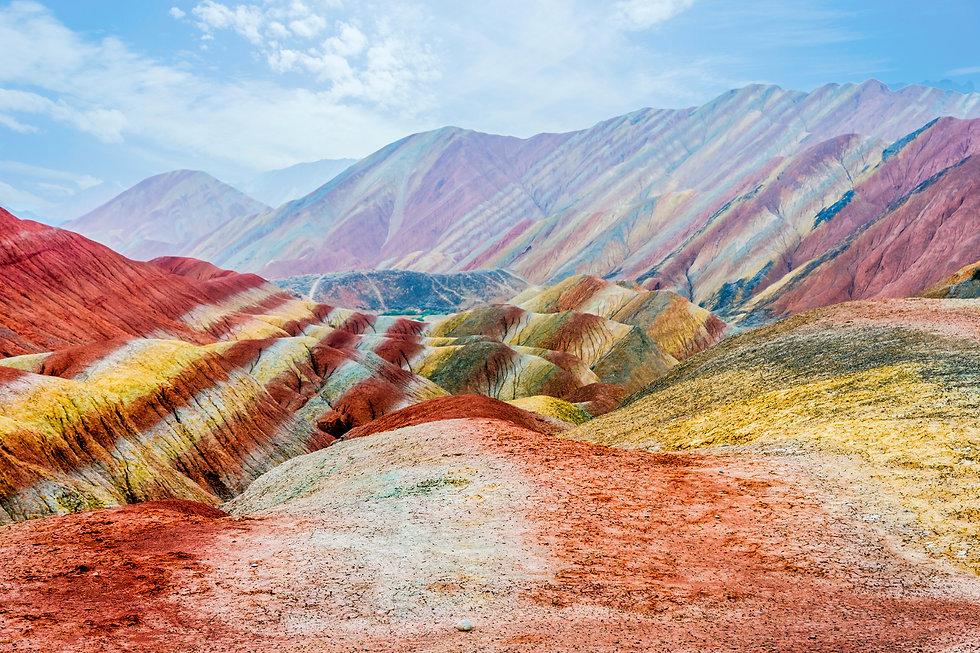 Rainbow Mountains-Gansu-Shutterstock Ima