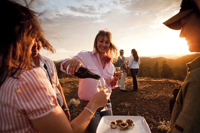 Local Sundowners and Canapes
