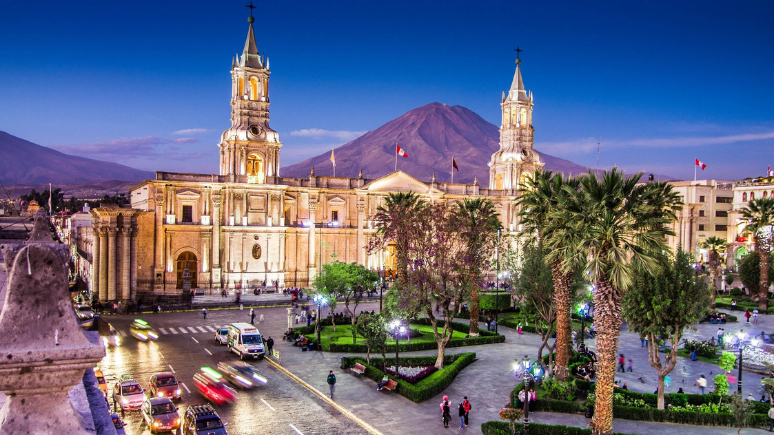 Colonial centre of Arequipa
