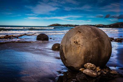 Mysterious Moeraki Boulders