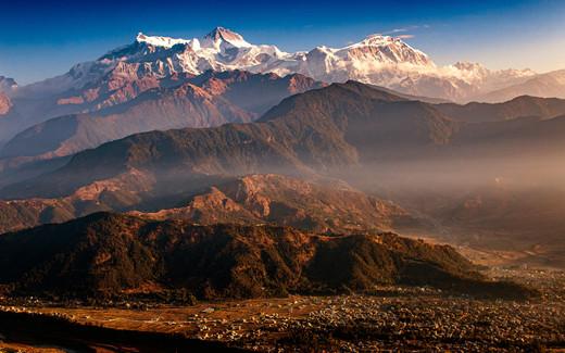 Stunning Himalayan range