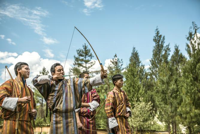 Archery, National Sport of Bhutan