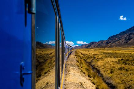Head to Machu Picchu onboard the Peru Rail