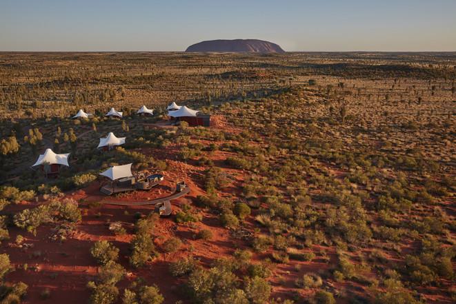 Longitude 131 against Uluru