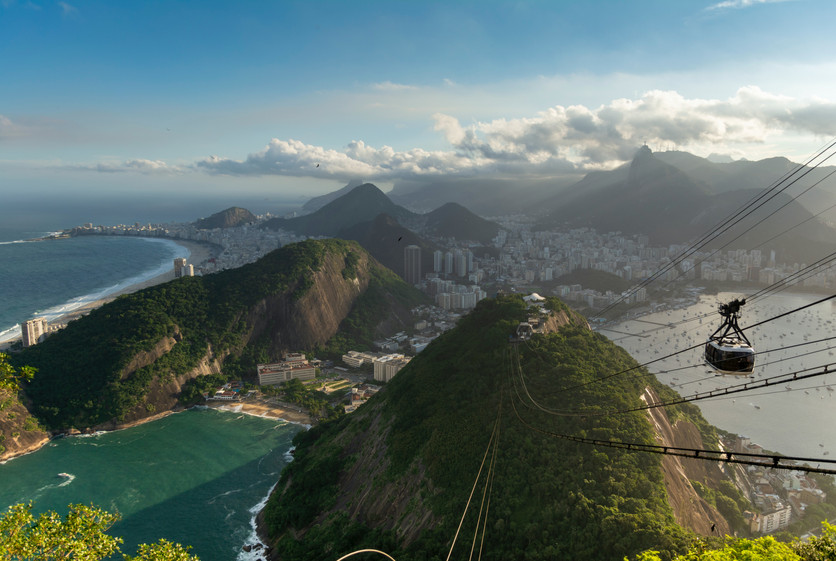Take a Cable Car to Sugar Loaf Mountain