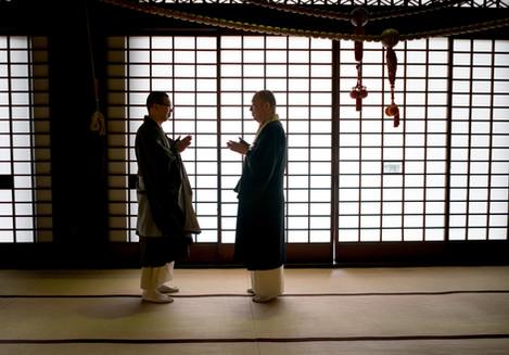 Japanese Monks