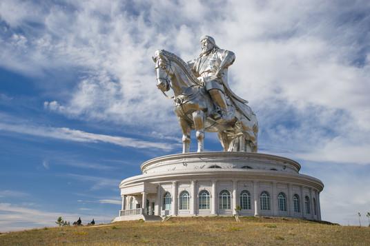 Statue of Chinggis Khaan