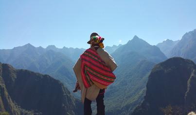 Overlooking the valleys