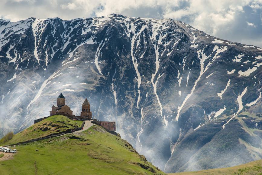 UNESCO site of Gergeti Tsminda Sameba Church