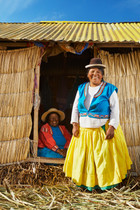 Locals of Lake Titicaca