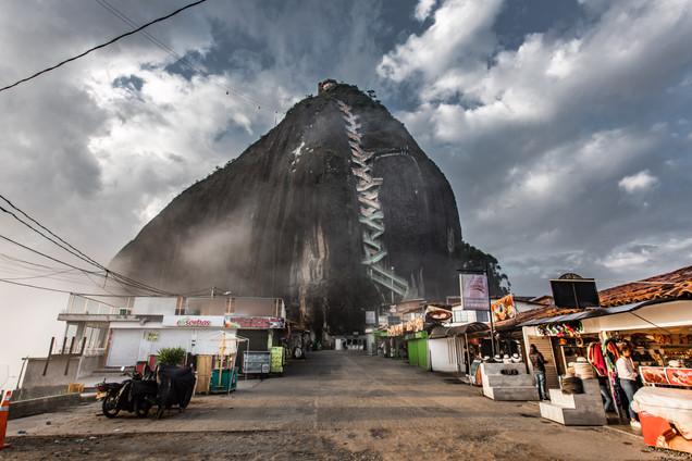 Climb up El Penol de Guatape
