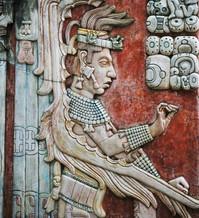 Mayan frescos