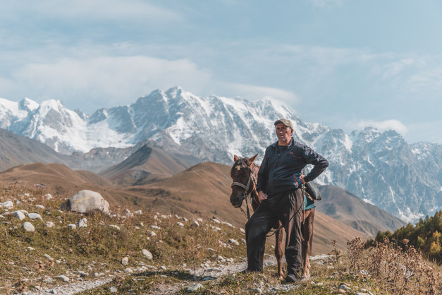 Inspiring landscapes of the Caucasus Mountains