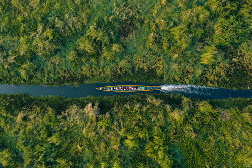 Delve into Inle Lake's waterways