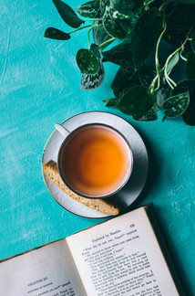 Enjoy freshly brewed tea