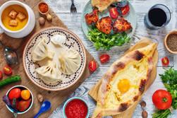 Hearty Georgian cuisine
