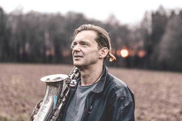 Saxophonist Martin