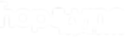 Hop & Vine Taphouse Logo - Horizontal Wh