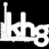 KHG Logo - White on Transparent Backgrou