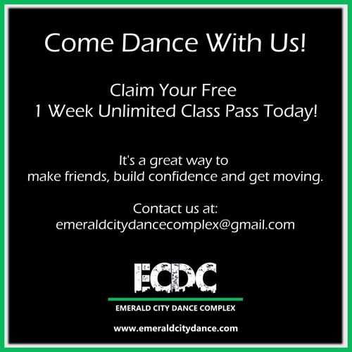 ECDC Free 1 Week Class Pass