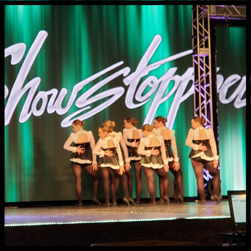 ECDC Jazz Competition Team at Showstopper Regionals
