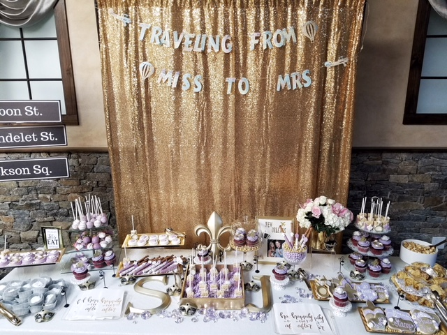 Bridal Shower Dessert Display