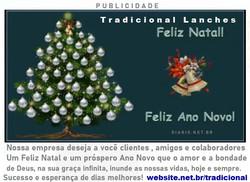 Feliz Natal e um próspero Ano Novo de  n
