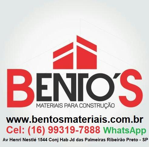 Bentos Materiais para Construção Ribeirão Preto - SP Telefone 16 3917-2326 Loja