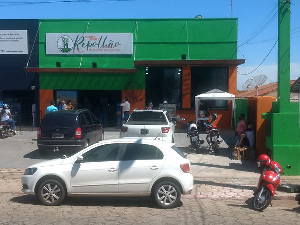 Repolhão MA Horti Fruti Alho Roça loja.f