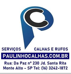 PC Paulinho Calhas www.paulinhocalhas.co
