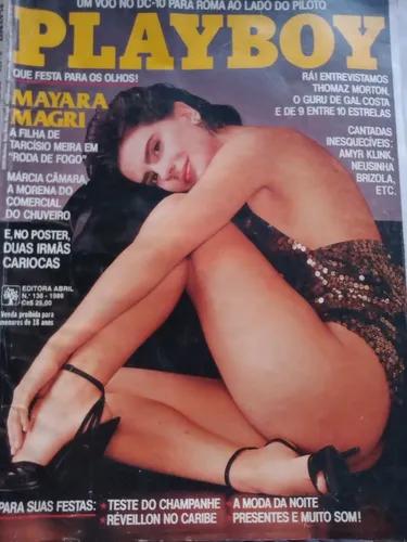 Revista Playboy Antiga Mayara Magri N 13