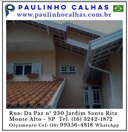 Paulinho calhas www.paulinhocalhas.com