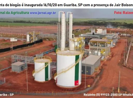 PRESIDENTE DO BRASIL INAUGURA EM USINA DA REGIÃO ENERGIA RENOVÁVEL BIOGÁS