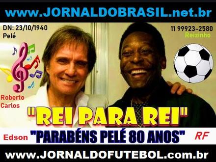 Pelé é homenageado pela Fifa aos 80 anos Edson Arantes do Nascimento
