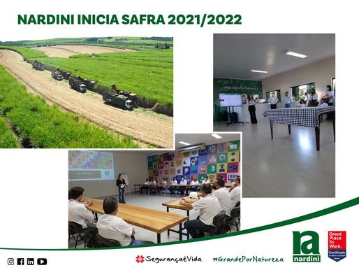 Safra 2021 - 2022 Usina Nardini