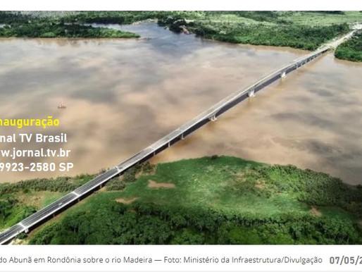 Inauguração da Ponte do Abunã