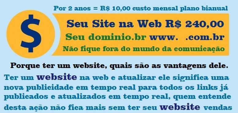 website 240,00 reais por 2 anos start.jp