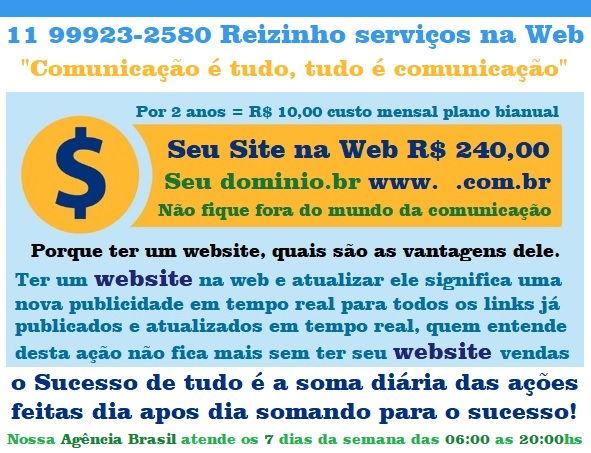 Website R$ 10,00 por mês no Plano Bianua