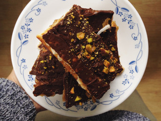 CHOCOLATE MATZO CRUNCH