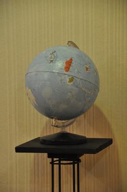 "Globe ""Terre d'îles"""